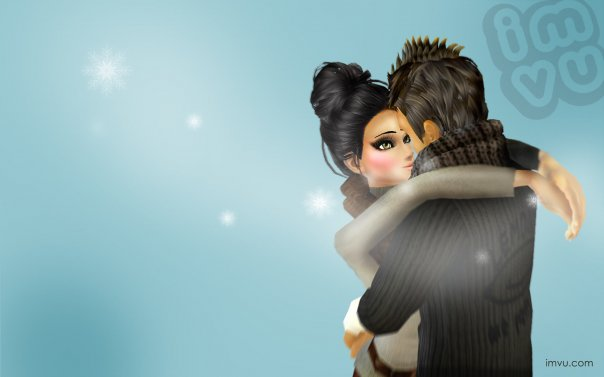 IMVU 2009 HOLIDAY WALLPAPER
