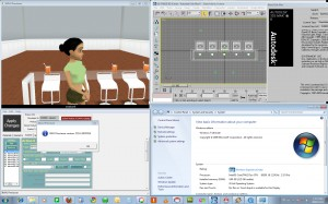 imvu previewer -  3ds max - win7